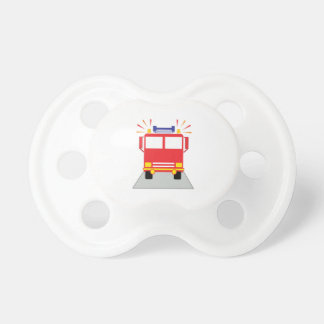 Red Fire Engine Pacifier