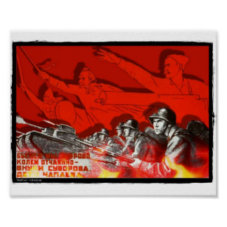 Red Fire Poster