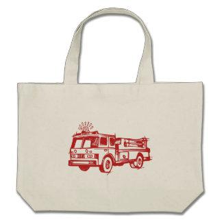 Red Fire Truck Bag