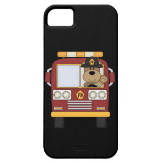 Red Fire Truck Bear Case For The iPhone 5