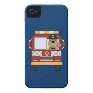 Red Fire Truck Bear iPhone 4 Covers