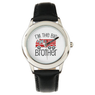 Red Fire Truck Big Brother Watch