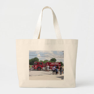 Red Fire Truck Jumbo Tote Bag