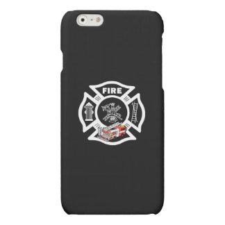 Red Fire Truck Rescue iPhone 6 Plus Case