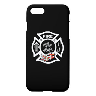 Red Fire Truck Rescue iPhone 7 Case