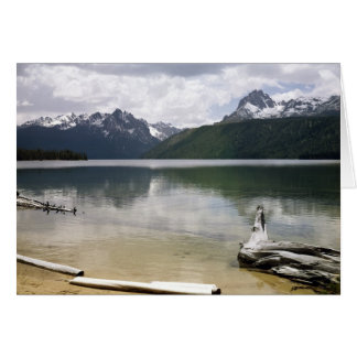 Red Fish Lake Card