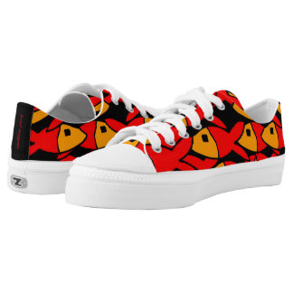 red fish low tops