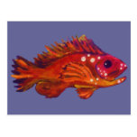 Red Fish Postcard