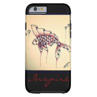 Red fish tough iPhone 6 case