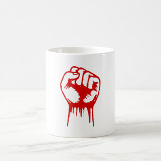 Red Fist Coffee Mugs