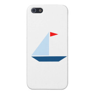 Red Flag Sail Boat iPhone 5/5S Covers