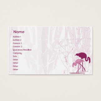 Red Flamingo - Business Business Card