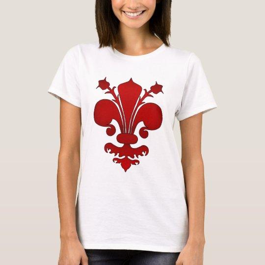 Red fleur de lis T-Shirt