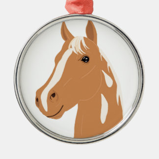 Red Flight the Happy Horse Christmas Ornament