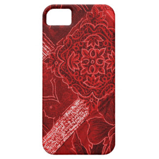 Red Floral Collage Case-Mate iPhone 5 iPhone 5 Case