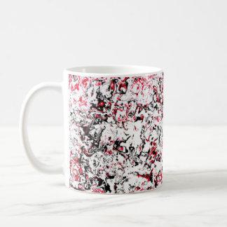 Red Floral designer Mug