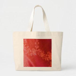 Red Floral Elegance Bag - Customizable Bag