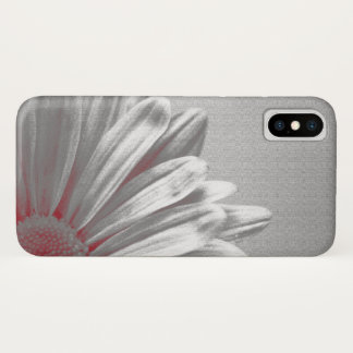 Red Floral Highlights iPhone X Case