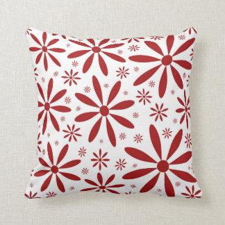 Red Flower Cushion