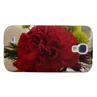 Red Flower Galaxy S4 Case