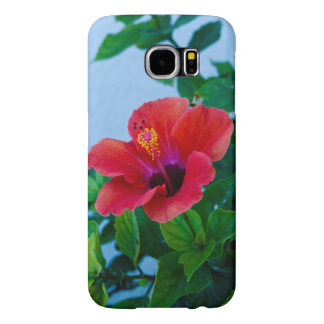 Red Flower Galaxy s6 Case