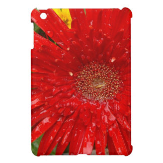 Red Flower in the Morning Mist iPad Mini Cover