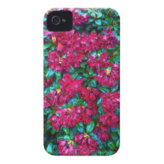Red Flower photo painting iPhone 4 Cover