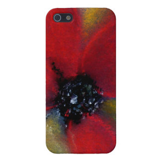 Red Flower, Poppy. Cover For iPhone 5/5S