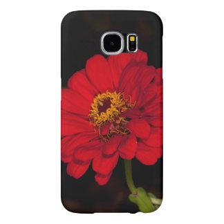 Red Flower Samsung Galaxy S6 Cases
