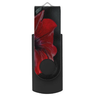 red flower usb drive 16 gb