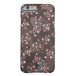 Red Flowers Batik Barely There iPhone 6 Case
