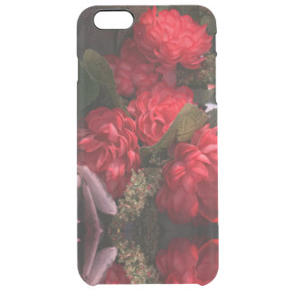 Red Flowers Bouquet iPhone Clearly™ Deflector Case