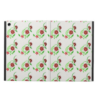 Red Flowers iPad Air Covers