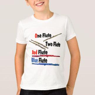 Red Flute Blue Flute T-Shirt