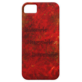 Red Flwr CaseMate iPhone 5 Case (loveable, ...) iPhone 5 Case