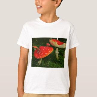 Red Fly Agaric Amanita Muscaria Mushrooms Photo T-Shirt