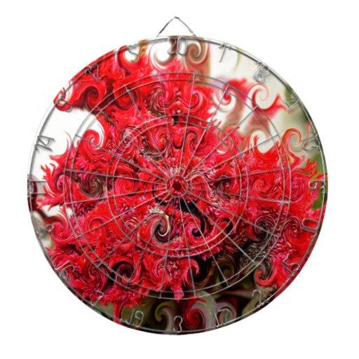 Red Foam Design Dartboard