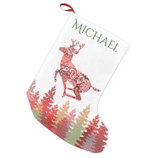 Red Foil Reindeer Forest Name