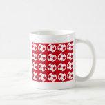 Red football coffee mugs