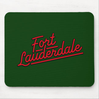 red Fort Lauderdale Mousepads