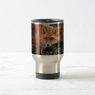 Red Fox at Cape Newenham Travel Mug