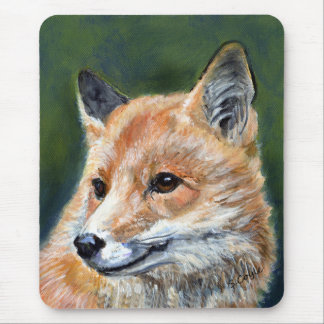 Red Fox by Sharon Coyle Mouse Pad