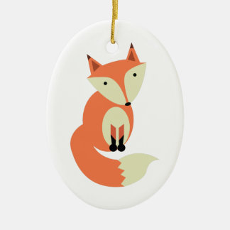 Red Fox Christmas Ornament