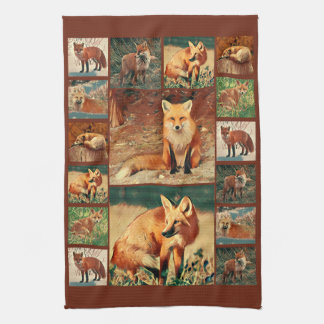 Red Fox Collection Hand Towels