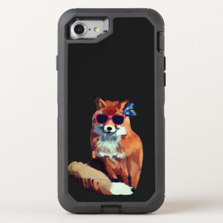 Red Fox Cool Trendy  OtterBox iPhone 8/7 Case
