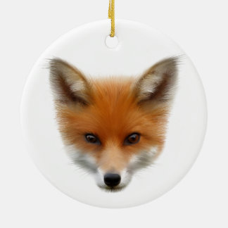 Red Fox Cub Hanging Ornament