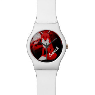 Red Fox Design Personalized May28th Women Watch