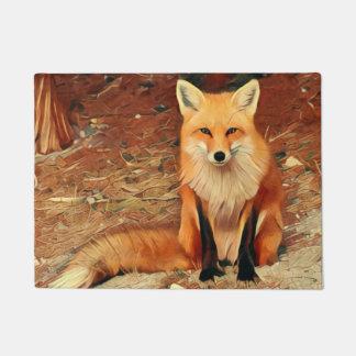 Red Fox Doormat