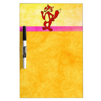 Red Fox Dry Erase Board