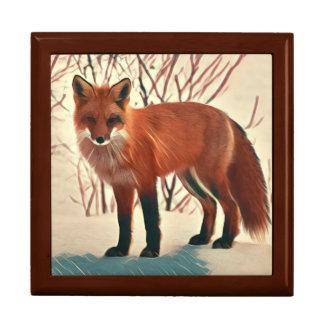 Red Fox Gift Box